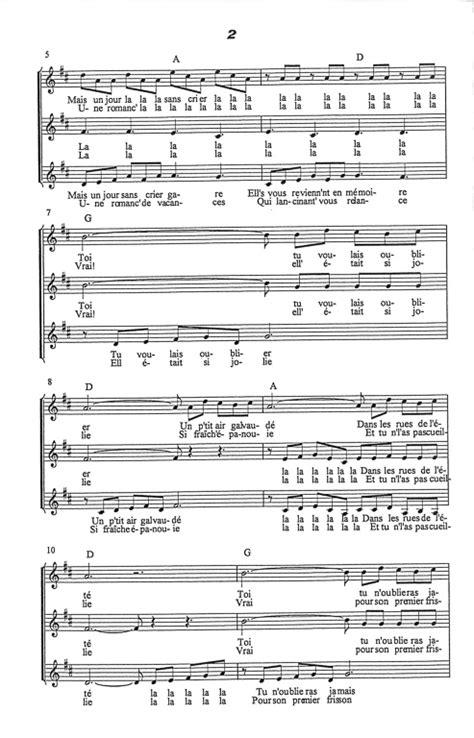 partition piano 3 petites notes musique