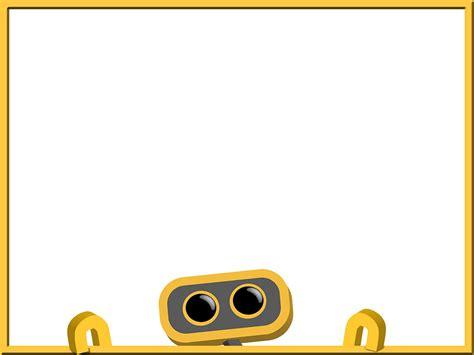 Robot Background Robot 48 Robot Was Here Background Slide Tim