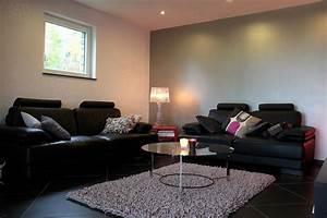 Peinture Moderne Salon : deco maison peinture salon rouge avec decoration interieur peinture salon 2017 avec idee ~ Teatrodelosmanantiales.com Idées de Décoration