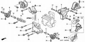 Engine Mounts For 1997 Honda Cr