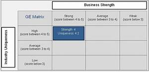 what is the ge strategic business unit sbu matrix With pros and cons matrix template