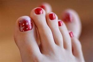 Christmas toe nail art designs ideas stickers