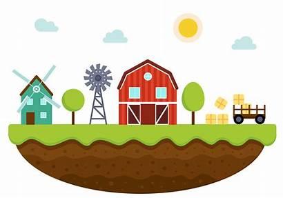 Farm Vector Desa Clipart Graphics Vectors Transparent