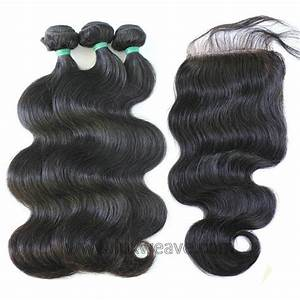 Bundles Body Wave Hair Weave With Closure Malaysian Virgin ...