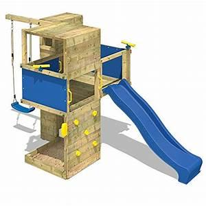 Spielhaus Garten Mit Rutsche : wickey spielturm smart cube kletterturm in modernem design ~ Watch28wear.com Haus und Dekorationen