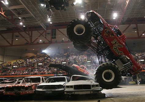 monster truck show in chicago a 39 monster 39 of a truck show comes to civic center on