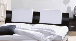 Bett Kopfteil Kissen : designerbett mit hochglanzoberfl che massivholzbett wayne ~ Michelbontemps.com Haus und Dekorationen