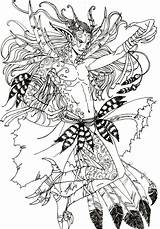 Lunar Exalted Deviantart Arin sketch template