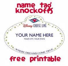 images  disney cruise templates printables