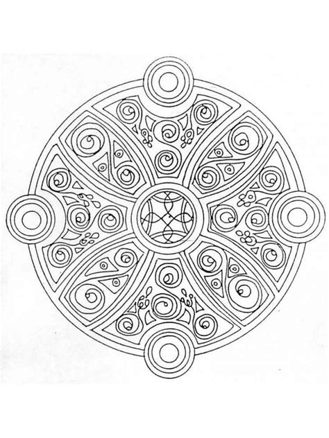 celtic knot coloring pages  adults  printable celtic knot coloring pages