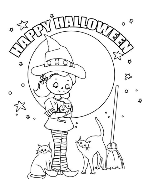 93  [ Coloring Pages For Preschoolers Halloween ]   Ghost