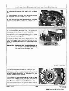 John Deere Mechanical Front