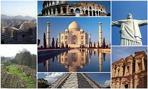 As, Sete, Maravilhas, Do, Mundo, Antigo, E, Moderno