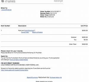 Fake Rechnung : apfelwerk apple id phishing durch gef lschte itunes belege ~ Themetempest.com Abrechnung