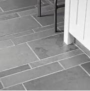 Gray Slate Bathroom Floor Tile by 40 Grey Slate Bathroom Floor Tiles Ideas And Pictures