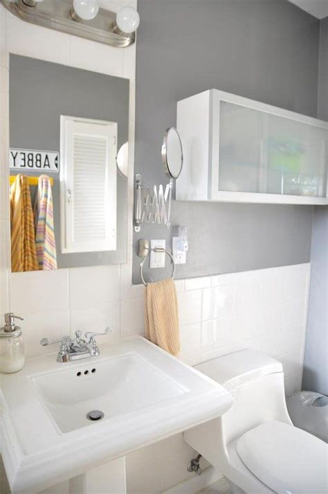 Behr Paint Colors Bathroom by The Bathroom Cabinet Is From Ikea Bathroom Paint Is Behr
