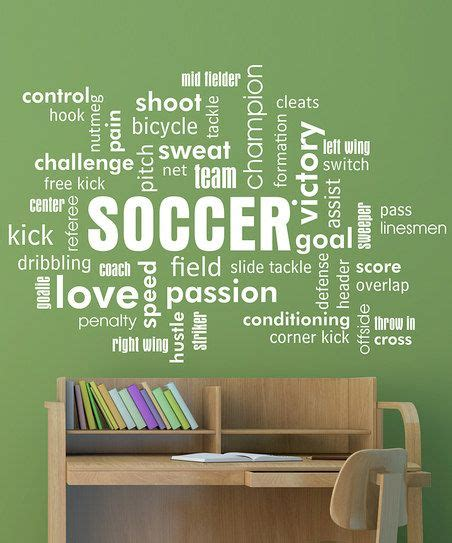 Soccer Quote Wall Art