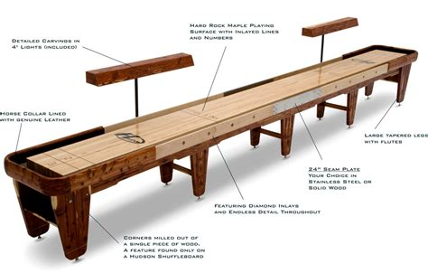 a shuffleboard table a shuffleboard table buying guide written by the pros 7337