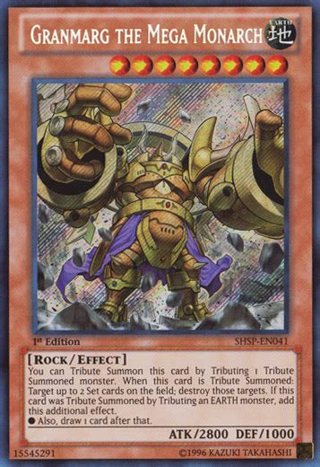 yugioh mega monarch structure deck granmarg the mega monarch yu gi oh it s time to duel
