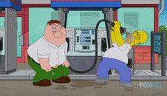 simpsons family guy crossover gifs search find