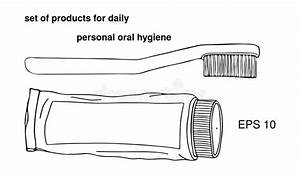 Set Products Items For Daily Personal Oral Hygiene  Large