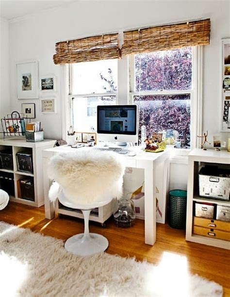 Floppy But Refined Boho Chic Home Office Designs Digsdigs