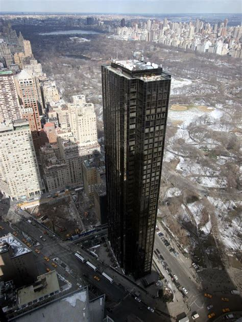 agels rossy donald trump tower  york