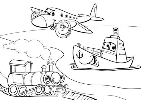 De Trein Kleurplaat by Kleurplaat Trein De Leukste Treinen Kleurplaten Voor