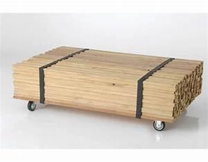 Roue Pour Table Basse : table basse roue interesting table basse roue et verre with table basse roue elegant roues ~ Teatrodelosmanantiales.com Idées de Décoration