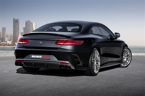 Brabus 850 60 Biturbo Coupe Based On The Mercedes S 63