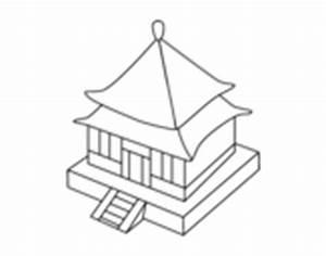 Maison Japonaise Dessin : dessin de boutique japonaise colorie par petersoncr le 10 de avril de 2015 ~ Melissatoandfro.com Idées de Décoration