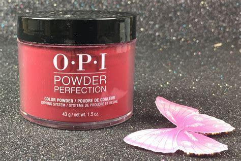 opi malaga wine powder perfection dipping system dpli