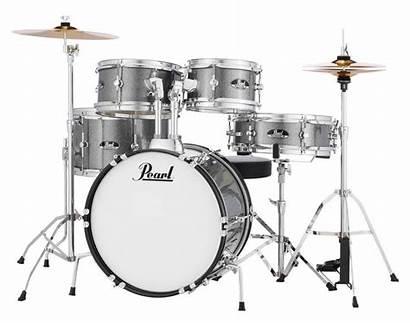 Roadshow Sparkle Drum Pearl Grindstone Cymbals Hardware