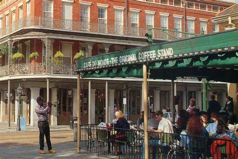 Cafe Du Monde, Famous Coffee Stand, French Quarter, New Douwe Egberts Coffee Where To Buy Walmart Table Legs Liquid For Sale Canada Starbucks Free Cup Of Coupon Not Your Parents Nina Houston Syrup Decaf Pods