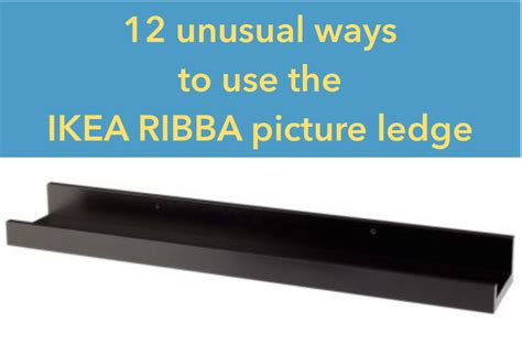 ikea hack bathroom 12 ways to use the ribba picture ledge all
