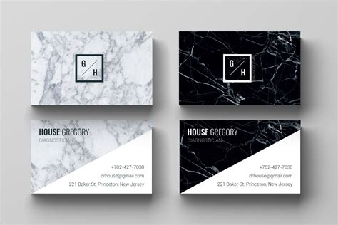 Business Card Template L Marble, Design, Black White Outlook Business Card Design Size In Psd Scan Iphone Free Automotive Cards On Coloured Paper How To Create A Word For Mac Stock Types Scanner Compatible With 2016