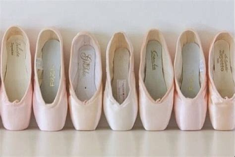 Many Different Brands Of Pointe Shoes!