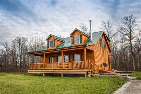 prefab cabin site prep delivery riverwood cabins