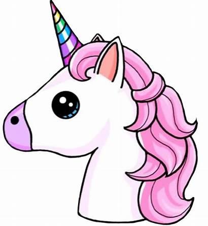 Unicorn Unicornio Clipart Cool Colors Pink Interesting