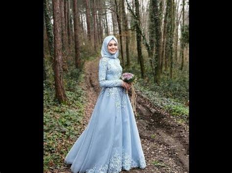 gaun pernikahan muslimah terbaru  youtube