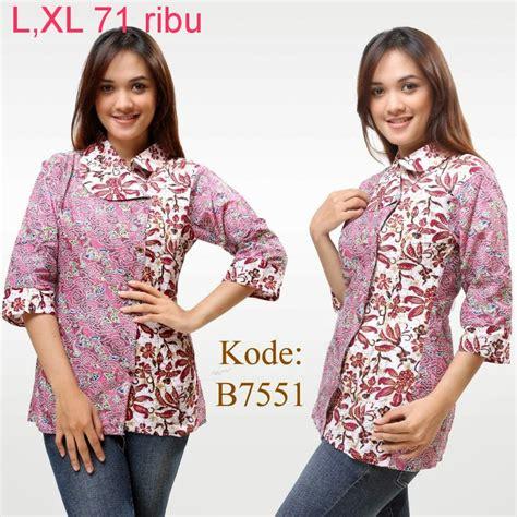 Baju Batik Terbaru Cowok