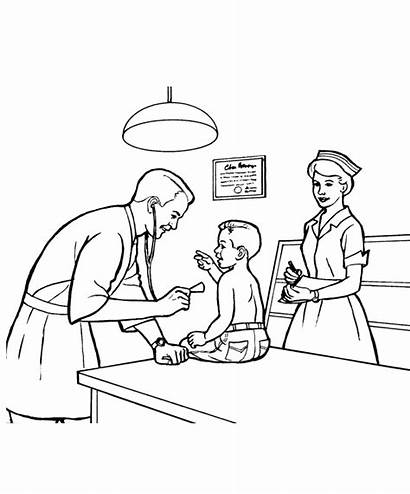 Doctor Coloring Pages Need Understanding Profession Why