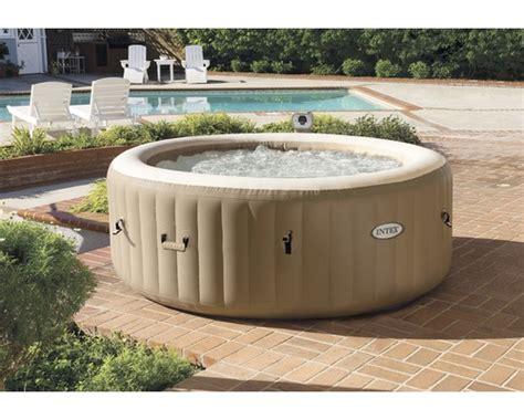 Whirlpool Garten Baumarkt by Aufblasbarer Whirlpool Intex Spa 77 128404gn