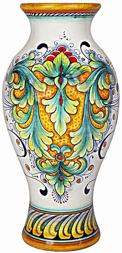 Vase Ceramic Italian Ceramics Pottery Deruta Majolica