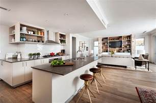 kitchen sitting room ideas open floor plans a trend for modern living