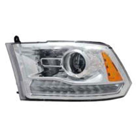 go parts 187 2013 2015 dodge ram 1500 front headlight headl assembly front housing lens