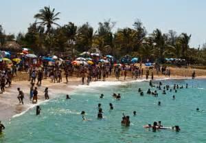 People Havana Cuba Beaches
