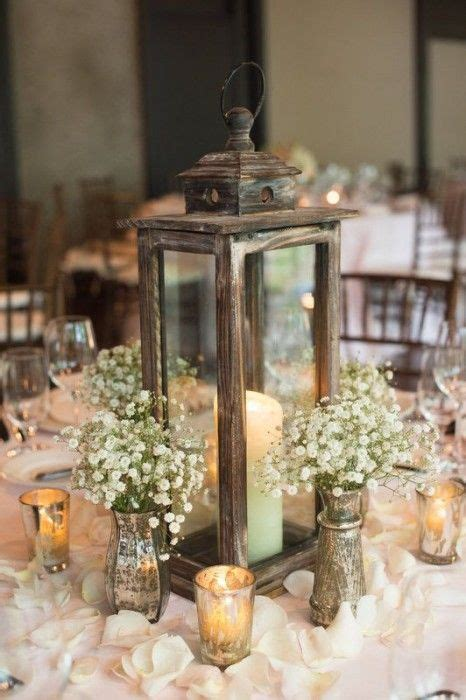 20 fabulous rustic wedding centerpiece ideas vintage vogue lantern centerpiece wedding
