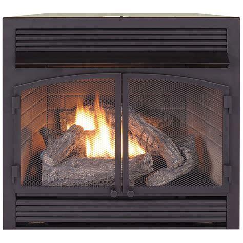 Dual Fuel Fireplace Insert Zero Clearance   32,000 BTU