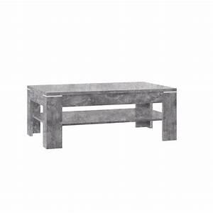 Möbel In Betonoptik : couchtisch alix beton wei 110x60 cm schubkasten 3 f cher m bel j hnichen center gmbh ~ Frokenaadalensverden.com Haus und Dekorationen